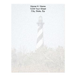 Hatteras Lighthouse Letterhead Stationery