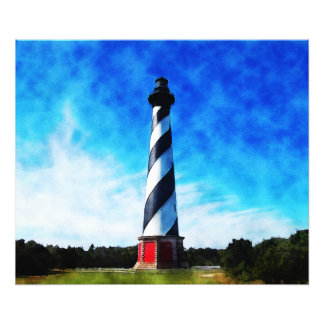 Hatteras Lighthouse Photo Print