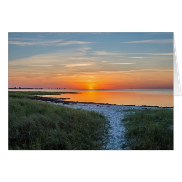 Hatteras Sunset Card