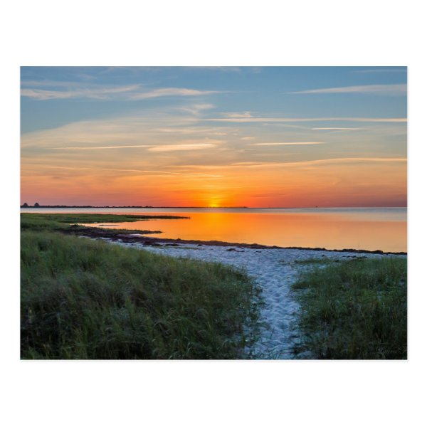Hatteras Sunset Postcard
