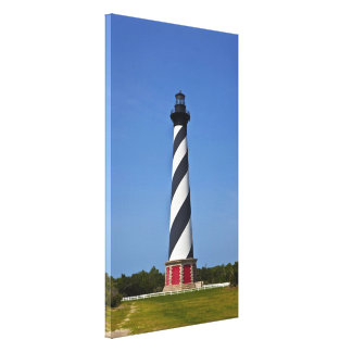 Hatteras's Stripes Gallery Wrapped Canvas