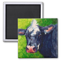 Hattie Cow Magnet
