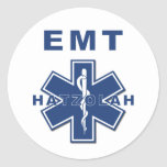 Hatzolah EMS Classic Round Sticker