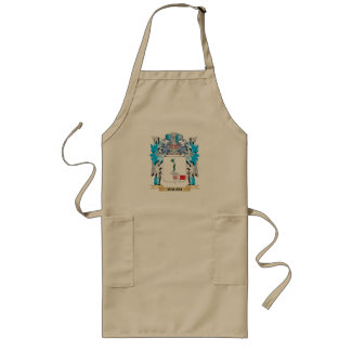 Hauch Coat of Arms - Family Crest Long Apron