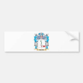 Hauch Coat of Arms - Family Crest Car Bumper Sticker