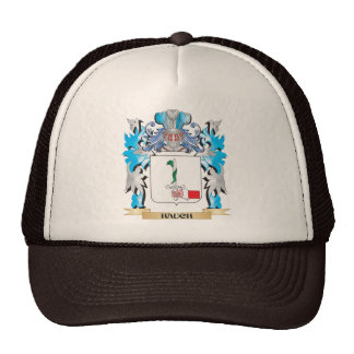 Hauch Coat of Arms - Family Crest Trucker Hat