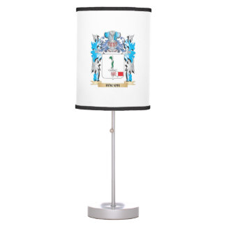 Hauch Coat of Arms - Family Crest Desk Lamp