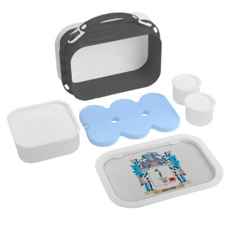 Hauch Coat of Arms - Family Crest Lunch Boxes