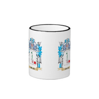 Hauch Coat of Arms - Family Crest Ringer Coffee Mug