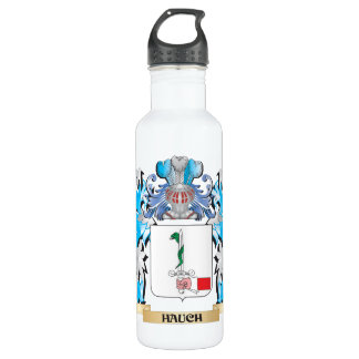 Hauch Coat of Arms - Family Crest 24oz Water Bottle