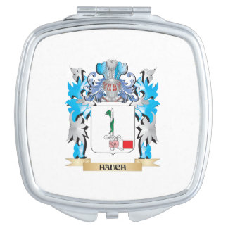 Hauch Coat of Arms - Family Crest Vanity Mirrors