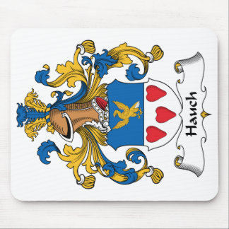 Hauch Family Crest Mouse Pad