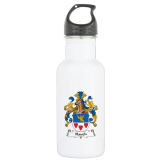 Hauch Family Crest 18oz Water Bottle