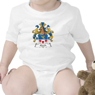 Hauch Family Crest Baby Creeper