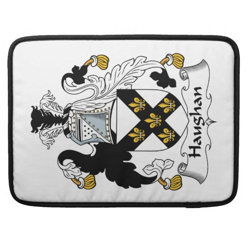 Haughan Family Crest Sleeve For MacBook Pro