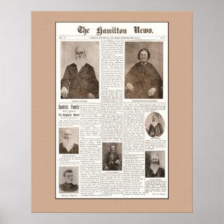 Haughey 1904 Reunion Poster