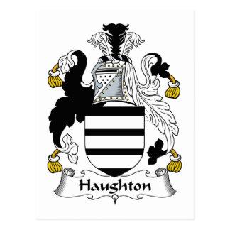 Haughton Family Crest Postcard