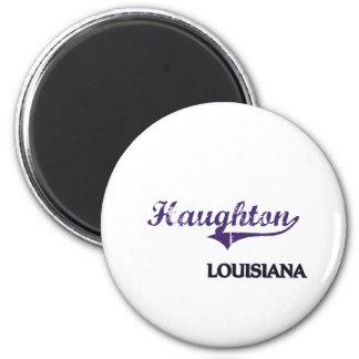 Haughton Louisiana City Classic 2 Inch Round Magnet