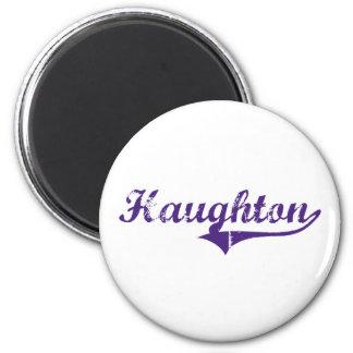 Haughton Louisiana Classic Design 2 Inch Round Magnet