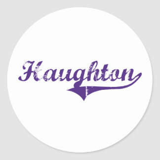 Haughton Louisiana Classic Design Classic Round Sticker