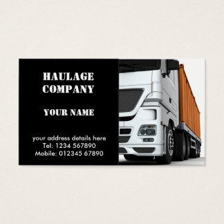 Haulage Company Business Card