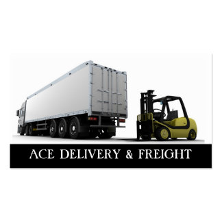 Haulage & Freight Business Card