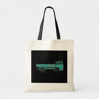 Haulers movers transport vintage toy truck photo tote bag