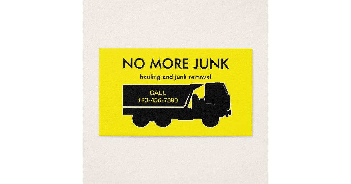 Trash Truck Business Cards & Templates | Zazzle