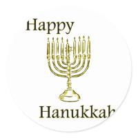 haunkkah round stickers