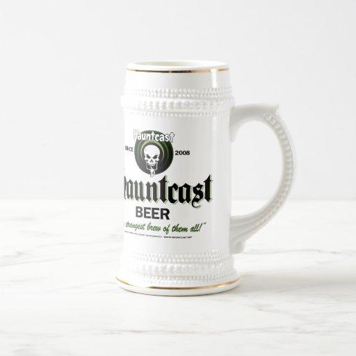 Hauntcast Beer Stein Coffee Mugs