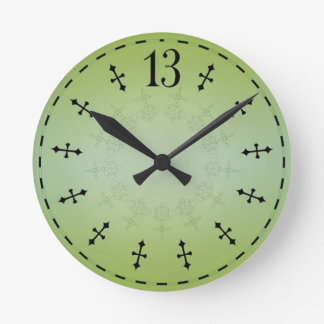 Haunted 13th Hour Clock