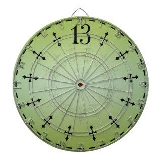 Haunted 13th Hour Clock Dartboard