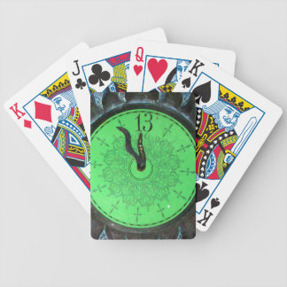 Haunted 13th Hour Clock Playing Cards