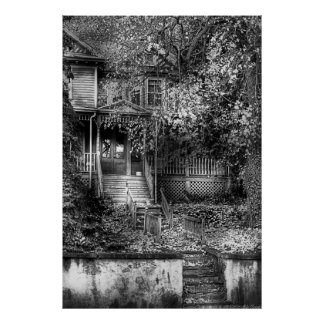 Haunted - Abandoned Poster