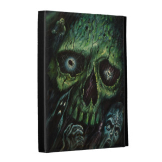 Haunted Attraction Skulls Ghosts Vintage iPad Folio Covers
