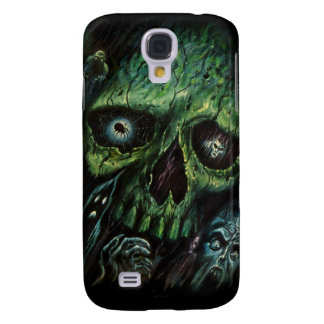 Haunted Attraction Skulls Ghosts Vintage Samsung Galaxy S4 Cover