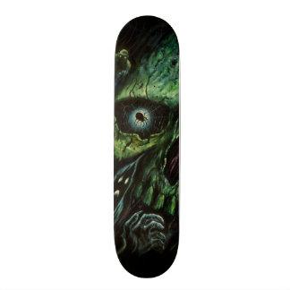 Haunted Attraction Skulls Ghosts Vintage Skateboard Deck