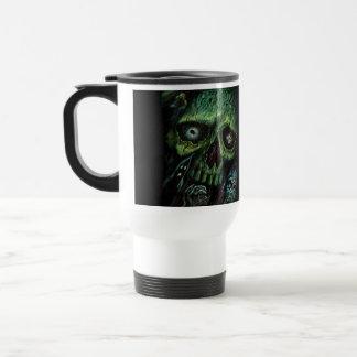 Haunted Attraction Skulls Ghosts Vintage Travel Mug