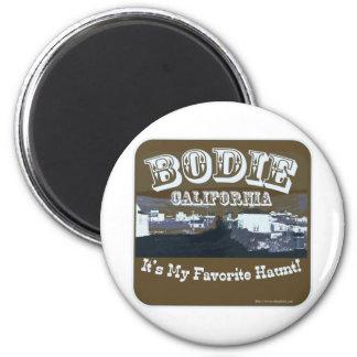 Haunted Bodie California Magnet