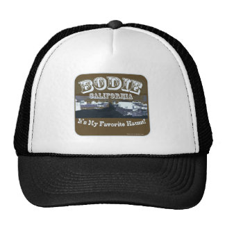 Haunted Bodie California Trucker Hat