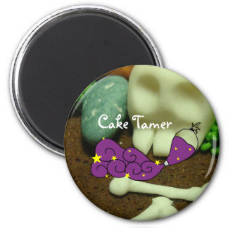 Haunted Brownies and Cake Tamer Magnet