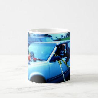 Haunted Car Coffee Mug
