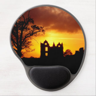 Haunted castle gel mouse pad