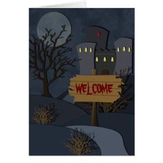 Haunted Castle Halloween Invitation