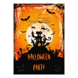 Haunted Castle Halloween Party Personalized Invitation
