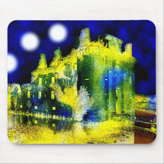 Haunted Castle Mouse Pad