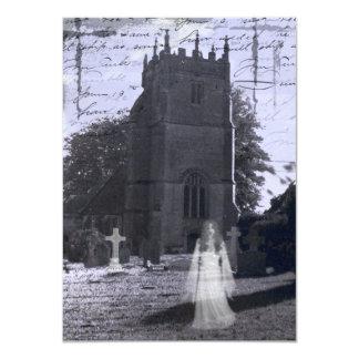 Haunted Cemetery Halloween Invitation