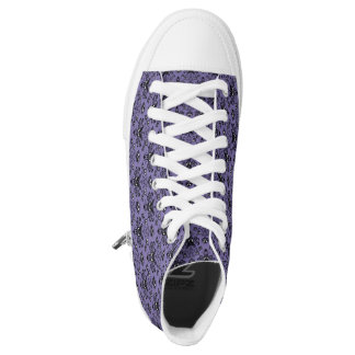 Haunted Damask High Top Shoes