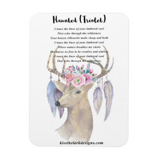 Haunted - Deer - Magnet