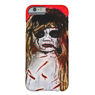 Haunted Evil Ghost Girl Airbrush Art Barely There iPhone 6 Case
